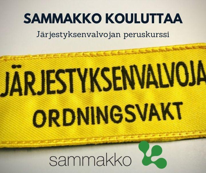 Järjestyksenvalvojan peruskurssi SAMKin opiskelijoille