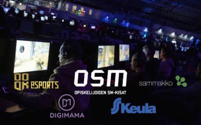 Kaksi SAMKin joukkuetta suoraan finaaliin Opiskelijoiden CS:GO:n SM-kisoissa